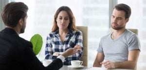 Dissatisfied Couple Unhappy With Houses Offered By Realtor